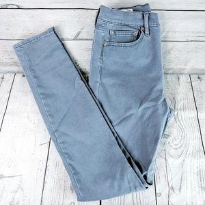 GAP 1969 High Rise Skinny Jeans Sz 28